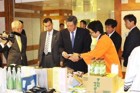 [Mitsui Fudosan Co. Ltd. Marche, food promotion events for disaster affected area (October 22)